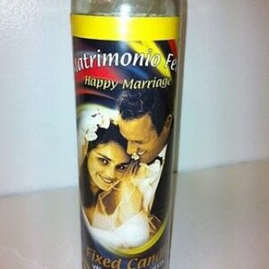 Happy Marriage 7 day fixed candle